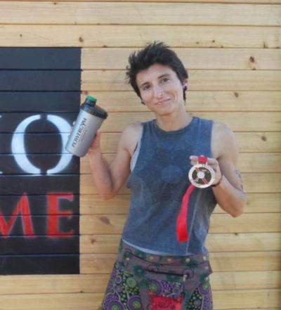 Alejandra gana la Teodosio Xtrem con nuestros suplementos deportivos