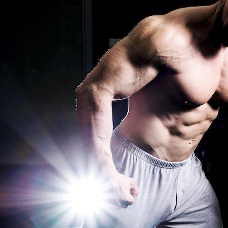entreno para ganar masa muscular con suplementos deportivos