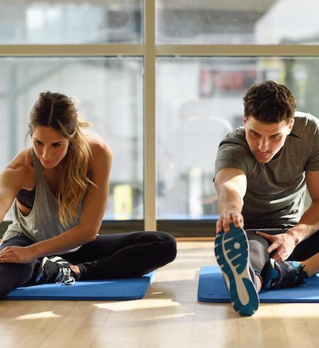 estiramientos para la recuperación post ejercicio