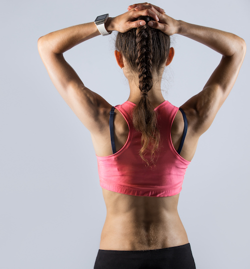 mujer fitness para reducir grasa