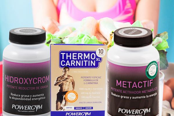 Pack para reducir grasa después del verano y mejorar tu nutrición deportiva con suplementos deportivos