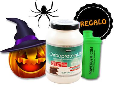 promoción de halloween para mejorar tu nutrición deportiva
