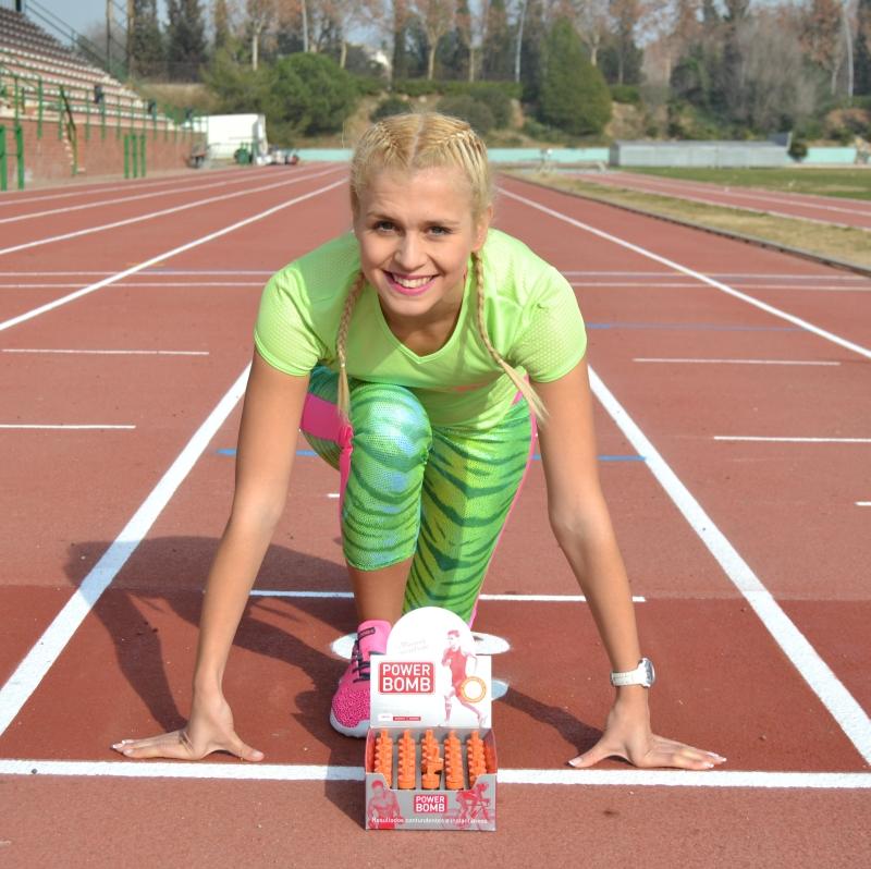Raquel LEon mejora su marca personal con nuestra nutrición deportiva