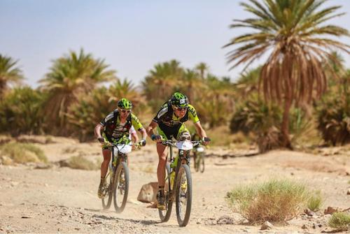 Roberto Bou queda segundo en la Titan Desert utilizando nuestros suplementos deportivos