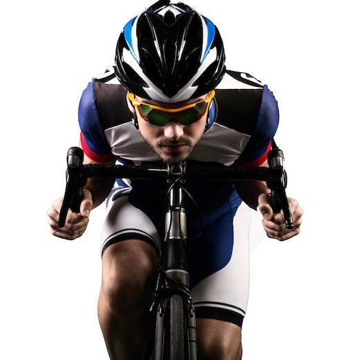 triatleta para carreras de larga distancia sin problemas estomacales