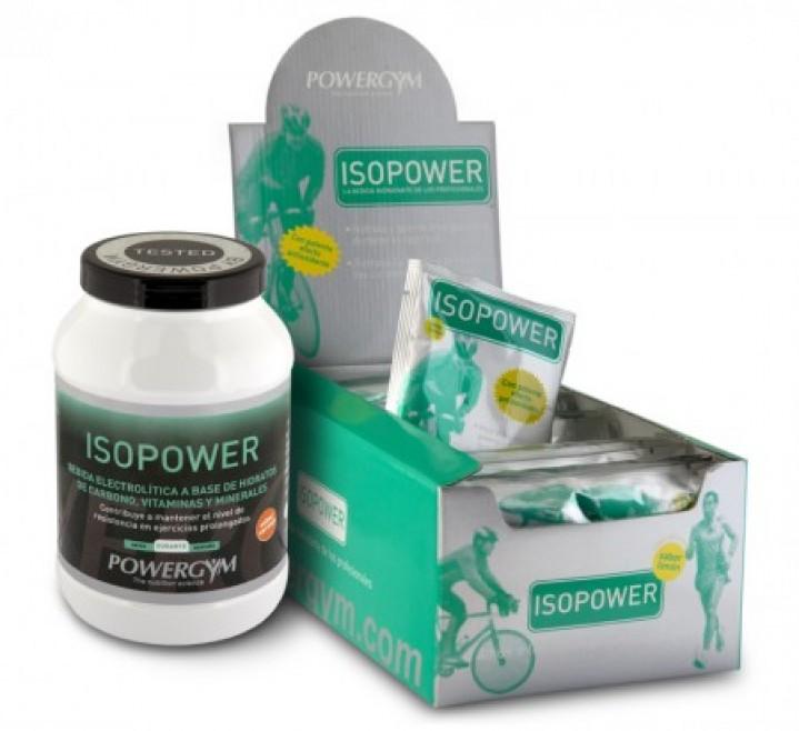 isopower, electrolitos para la rehidratación durante el ejercicio