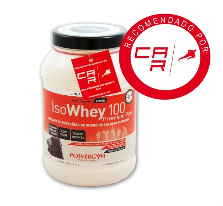 Isowhey 100 premium Plus aislado de proteínas de suero de calidad suprema