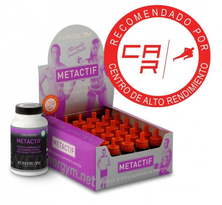 metactif en viales para mejorar la lipólisis