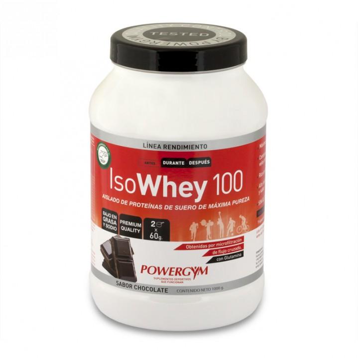 Isowhey 100, la mejor calidad de proteínas para tu batido de proteínas