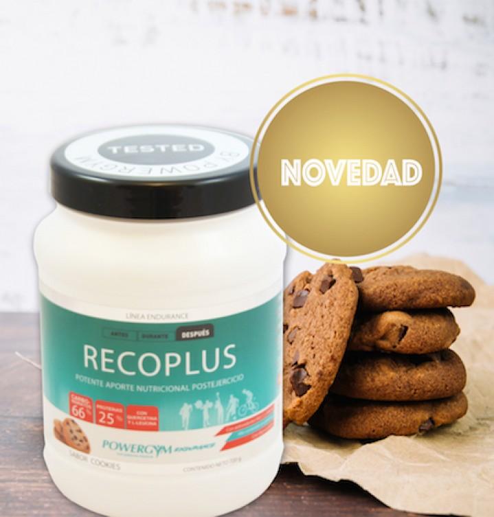 bote de recoplus sabor cookies para recuperar rápidamente en deportes interválicos